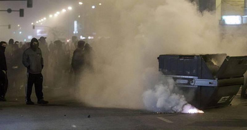 Violencia en las calles de Gamonal