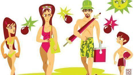 Conflictos en la pareja y vacaciones